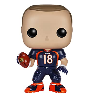 Funko POP NFL: Wave 2 - Peyton Manning Action Figure: Funko Pop! Sports:: Toys & Games