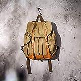 Gootium Canvas Backpack - Vintage Rucksack Causal