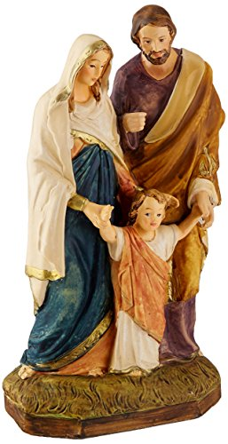 Holy Family Statue Child Jesus the Virgin Mary and Saint Joseph Roman Catholic Christian Religious Figurine Figure - Child Jesus Statue