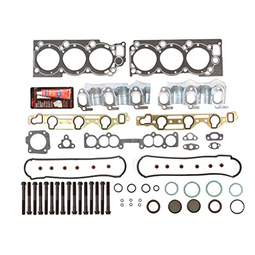 Evergreen HSHB2030 Cylinder Head Gasket Set Head Bolt (Gasket Engine Head Cylinder)