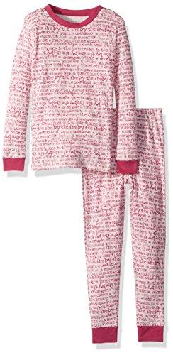 Blossoms Time (Burt's Bees Baby Unisex Pajamas, 2-Piece PJ Set, 100% Organic Cotton (12 Mo-7 Yrs), Blossom Story Time, 2T)