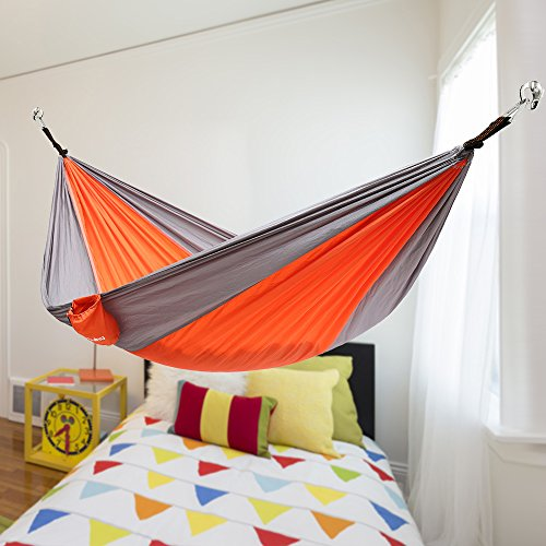 Ohuhu indoor hammock hanging kit new ebay for How to install a hanging hammock chair indoors