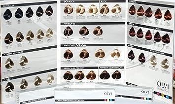 Tinte Olvi Profesional 60ml 7/44 Rubio Medio Cobrizo Intenso