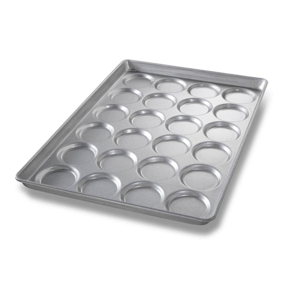 Chicago Metallic Bakeware ePan Aluminum Hamburger Bun Pan for 24 Buns by Chicago Metallic Bakeware B005OSQI7W