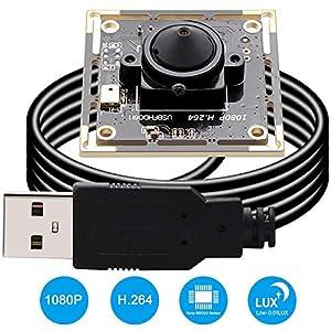 2MP Webcam 1080P USB Camera Module with Sony IMX322 Sensor Webcamera 001Lux Low Illumination Mini camera