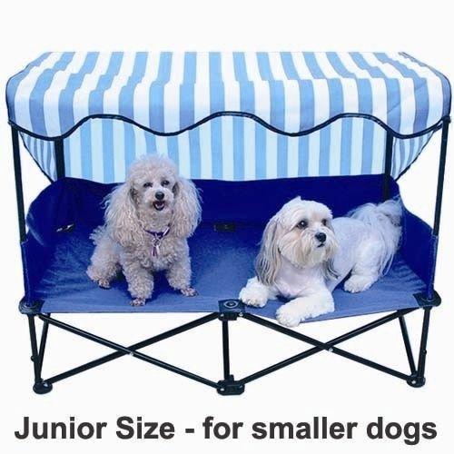Outdoor Dog Bed With Canopy Kuranda Walnut Chewproof