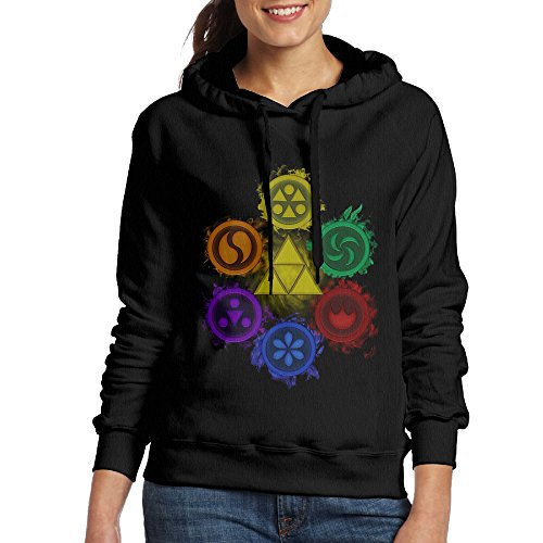 Legend Of Zelda Ocarina Of Time Womens Hooded Sweatshirt ...