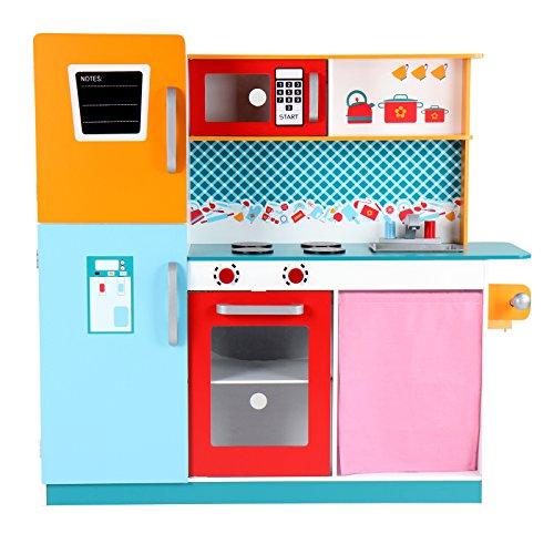 Infantastic cocina de juguete con frigor fico horno y - Cocina de juguete ...