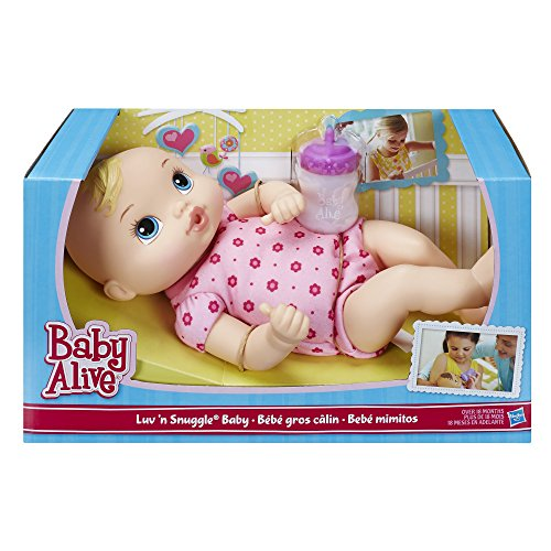 Baby Alive Luv N Snuggle Baby Doll Blond Import It All