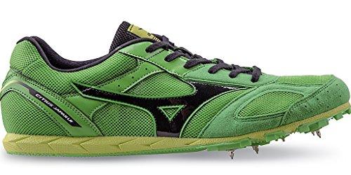 Mizuno - Zapatillas de atletismo de Material Sintético para hombre verde ClassicGreen/Black ClassicGreen/Black