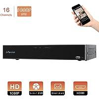 Evtevision 16 Canales HD 1080P Grabador de Video