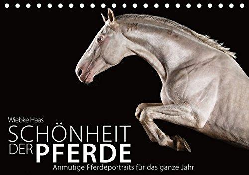 Die Schönheit der Pferde (Tischkalender 2016 DIN A5 quer): Anmutige Pferdeportraits für das ganze Jahr (Monatskalender, 14 Seiten ) (CALVENDO Tiere)
