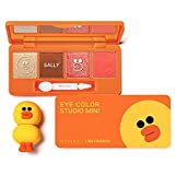 Missha Line Friends Eye Color Studio Mini No.3 Orange Sally.