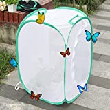 AUSPA Insect and Butterfly Habitat Terrarium Pop-up - 23.6 Inches Tall (White)