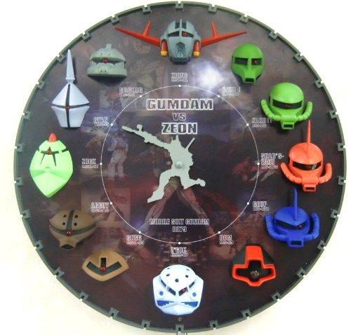 GUNDAM Hanging Clock Color 4MGA03FZ08