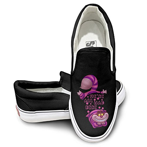 [OOONG Alice In Wonderland Cheshire Cat We Casual Slip On Fashion Sneaker 41] (Jack The Neverland Pirate Costumes)