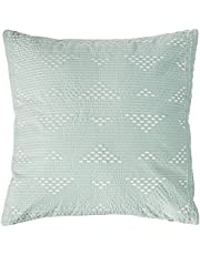 INK+IVY Mid Century Modern Cotton Decorative Pillow Hypoallergenic Sofa Cushion Lumbar, Back Support