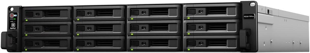 Synology RackStation RS3617RPxs Ethernet Bastidor (3U) Negro NAS ...