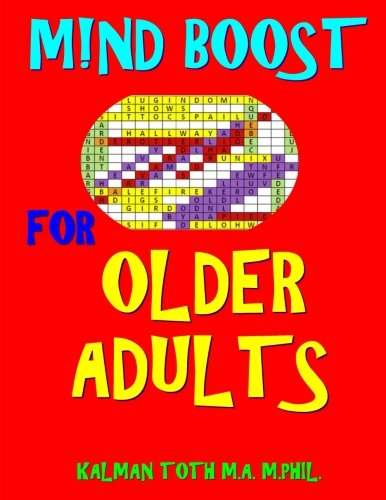 M!nd Boost for Older Adults: 132 Entertaining & Challenging Large Print Word Search Puzzles
