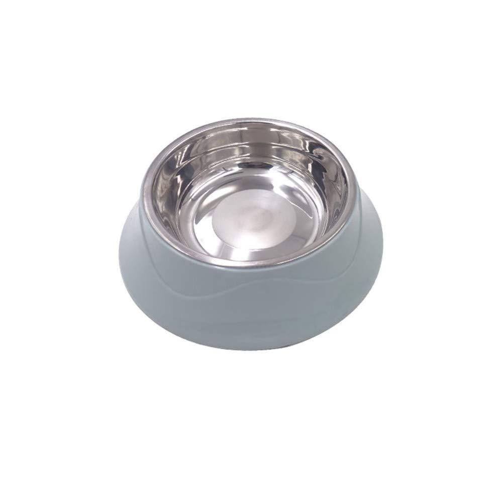 FOREVER-YOU Dog Bowl Dog Basin Dog Food Bowl cat Food Basin Stainless Steel Rice Basin Pet Supplies F