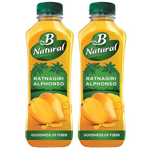 B Natural Ratnagiri Alphonso 750ml (Pack of 2)