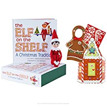The Elf on the Shelf Boy Light with Gingerbread Costume (Amazon Exclusive)