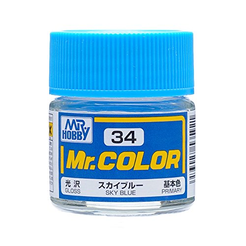GSI Creos Mr. Color C34 Sky Blue (Gloss) Paint (Japan Import)