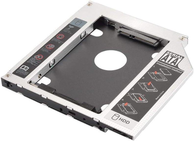 NO BRAND Universal 9.5mm SATA HDD Disco Duro SSD Carcasa de la ...