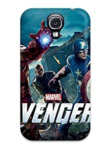 High Quality Shock Absorbing Case For Galaxy S4-the Avengers 33