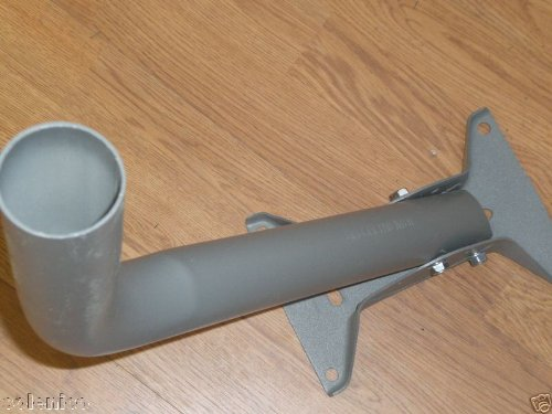 NEW FOOT MAST WALL & ROOF MOUNT FOR Directv 2'' OD SLIMELINE HD DISH ANTENNA