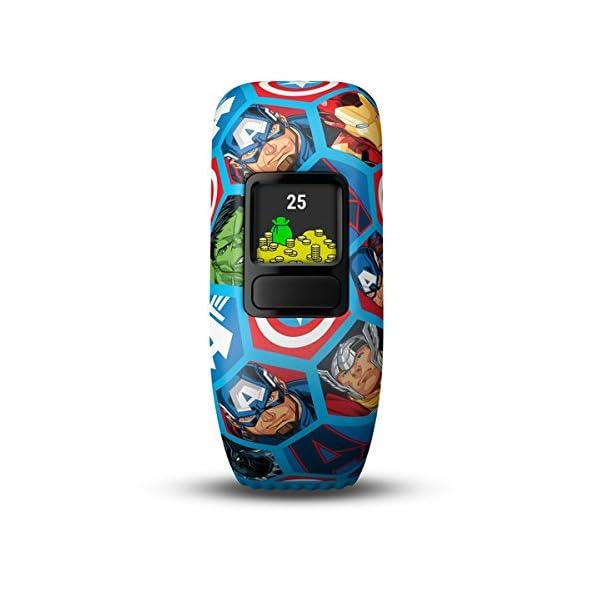 Garmin-Vivofit-Jr2-Activity-Tracker-per-Bambini-Cinturino-Regolabile-Marvel-Avengers-Blu-4-anni