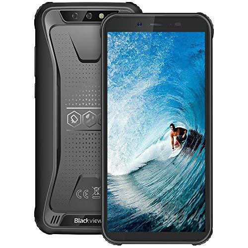 Téléphone Portable Incassable, Blackview BV5500Plus Smartphone Débloqué Antichoc Étanche Pas Cher 4G Android 10, 32Go… 1