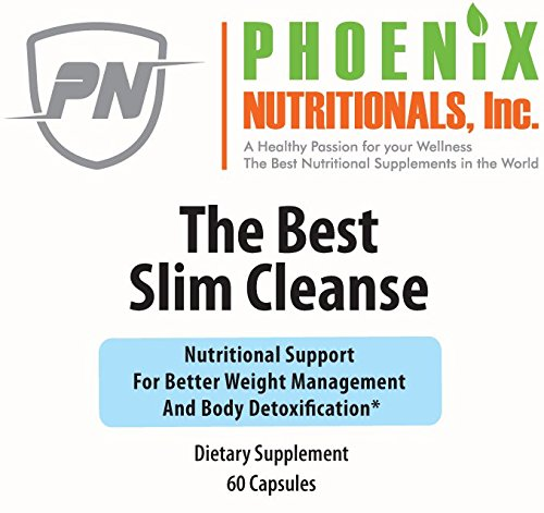 The Best Slim Cleanse, A Unique Formula for Cleansing Detoxifying While Supporting Healthy Weight Loss. Natural, Non-STIMULATING metabolic Enhancers producing Optimal Results with NO Nervousness