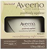 Aveeno, Facial Moisturizers Positively Ageless Reconditioning Night Cream, 1.7 fl oz