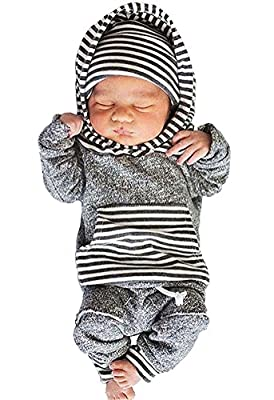 Newborn Baby Boy Girl Warm Hoodie T-shirt Top + Pants Outfits Set Kids Clothes by Aliven that we recomend personally.