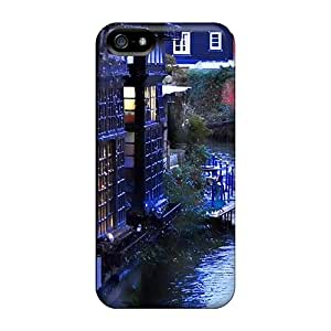 Jyc4622IUDX Cases Covers Protector For Iphone 5/5s Venice Italy Streets Cases