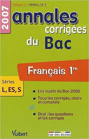 Livres électroniques gratuits à télécharger Français Séries L-ES-S : Annales corrigées du Bac 2844313337 by Christine Seutin,Jacqueline Zorlu PDF RTF DJVU