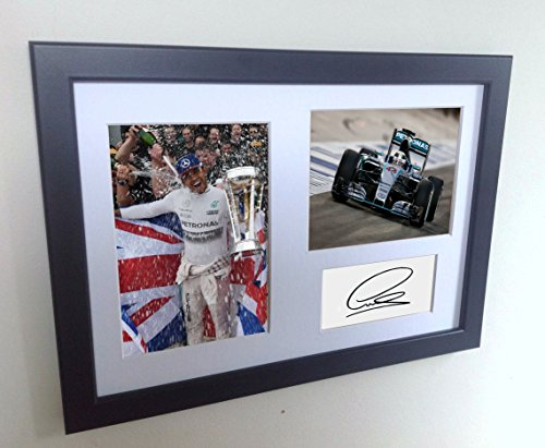 Signed Black Lewis Hamilton
