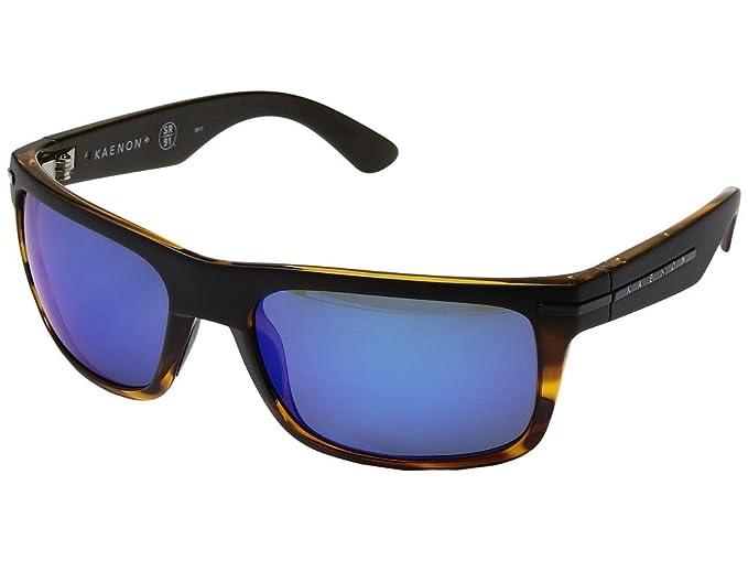 dfe7fff4fe Kaenon Burnet XL Sunglasses - Select Frame and Lens (Matte Black Tortoise