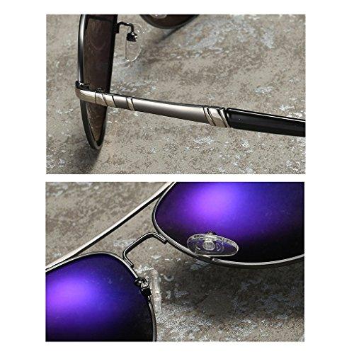 Miroir Polariseur pour Miroir Lunettes Soleil D Pilote Mode Soleil UV de Hommes de HGyanjing Pêche C de Lunettes Miroir Protection de Lunettes Chaude Couleur f7F86