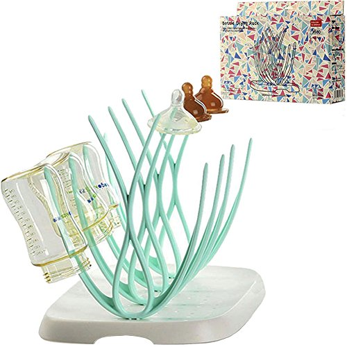 Baby Bottle Drying Rack and Dish Dryer for Toddler Sippy Cups,Bottle Nipples