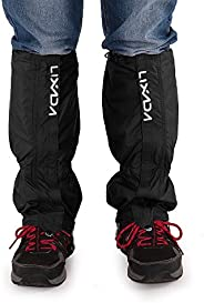 Lixada Unisex Waterproof Snowproof Outdoor Hiking Gaiters Climbing Hunting Snow Legging Leg Cover Wraps, Zippe