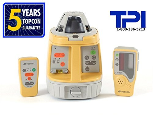(NEW! TOPCON RL-VH4DR GC SELF-LEVELING ROTARY LASER LEVEL, PACKAGE)