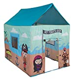 "Pacific Play Tents Kids My Pirate Ship House Tent Playhouse for Indoor / Outdoor Fun - 50"" x 40"" x 50"""