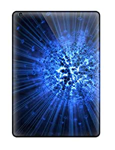 Blue Explosion Cases Compatible With Ipad Air/ Hot Protection Cases