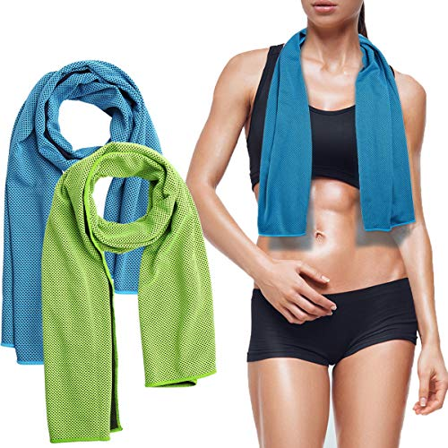 Microfibre Towel - Sports and Travel Towel with Bottle Packaging, Highly...