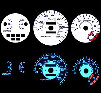 Honda Civic Cluster Tach Wiring Diagram on