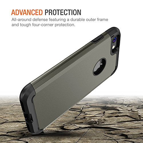 iPhone 8 Case, Trianium Protanium Apple iPhone 8 Case (2017) with Heavy Duty Protection/Shock Absorption/Dual Layer TPU…