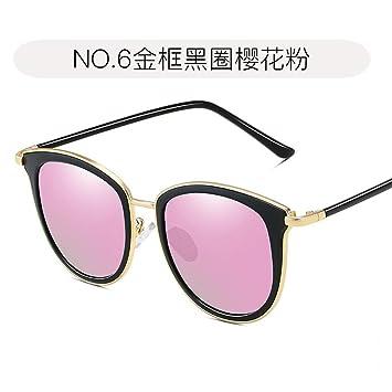 Burenqiq Gafas de Sol polarizadas Gafas de Sol de Moda para Mujer Gafas de Sol para