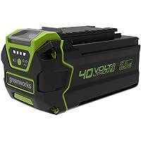 Greenworks 40V accu 2e generatie G40B6 (Li-Ion 40V 6Ah oplaadbare krachtige accu geschikt voor alle apparaten uit de 40V…